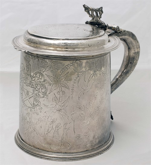 Silver Flagon ©Belmore Collection