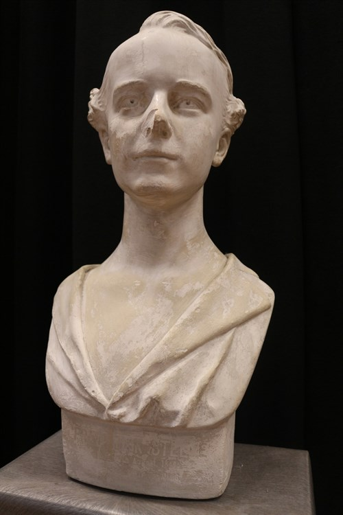 Bust Of Frederick Steele Copyright Ross Brimstone